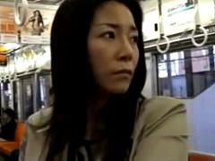 ヘンリー塚本 淫乱美人熟女! 隠語で電車で男をナンパ