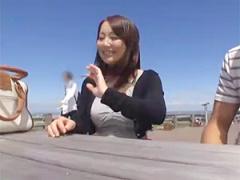 序盤のインタビューのとこで抜く奴続出w北海道が育んだ天然Hカップ激カワ...