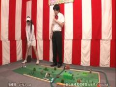 ホールインワン! ! パターゴルフ野球拳! ! 即ファックの罰ゲーム!