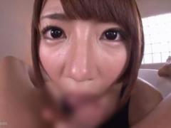 スクール水着の痴女JKソープ嬢が潜望鏡フェラ奉仕!