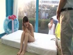 素人童貞男でもヨダレがでてしまうほどの美女を マジックミラー号 MM号動画