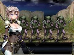 エロアニメ 女戦士っぽい美少女が気持ち悪すぎる複数のゴブリンたちに犯さ...