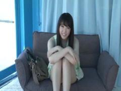 MM動画企画 清楚な感じのお姉さん 可愛い顔でそこそこエッチ 下着を脱いで...