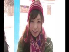スキー場帰りの美少女を騙して寝取りのマジ動画 マジックミラー号 MM号動画