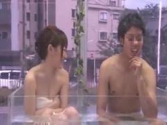 素人カップルがミラー号で公開セックス マジックミラー号 MM号動画