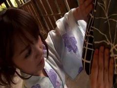 激カワな浴衣ギャルが温泉宿でねっとりフェラをしてくれる神プレイ