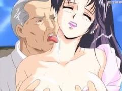 エロアニメ 清楚な女性教師が、変態男性教師にこっそり学校で首筋を舐めら...