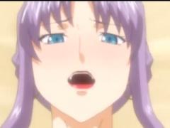 エロアニメ 巨乳オッパイ美熟女がパイズリしまくりでマジ抜ける! 淫乱すぎ...