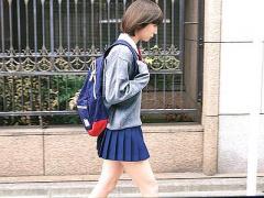 やめて…助けて…! 街で見かけた女子校生があまりに可愛すぎたので我慢でき...