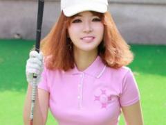 SEXYすぎる韓国ゴルフ選手の第3弾! レッスン中に美ボディを密着させて生徒...