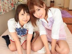 女子校生 巨乳おっぱいの可愛い美人JKの妹とSEX 美少女の女子校生と3P乱交...