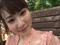 タイとか東南アジアっぽい国で透け乳首を見せちゃうグラドルのIV動画。