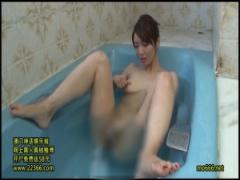 巨乳で巨尻の人妻が淫乱すぎる! セックスが終わっても浴槽内でオナニーを...