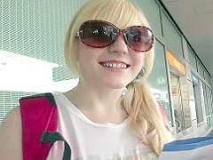 アイルランドから来た白人巨乳美少女が日本人男性宅にホームステイ! パコ...