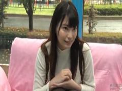 マジックミラー号 激カワ巨乳JDと手コキ→SEX→フェラ抜きで3連射!