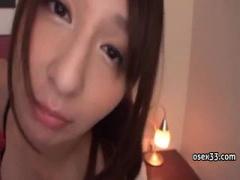 S級スレンダー美女 希崎ジェシカちゃんが、ラブホで密着しながら、目を見...