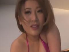 爆乳お姉さん痴女にパイズリ抜きされるM男動画