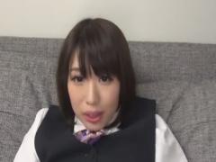 黒タイツ足コキでM男を射精させちゃうOL痴女動画
