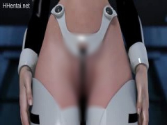 3Dエロアニメ 割れ目おまんこ見えちゃいそうな際どい衣装! コミケの人気コ...