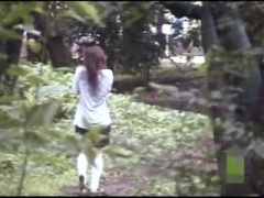 バレーの猛特訓をする美少女の練習メニューに野外オナニーも含まれていた件!