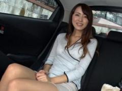 セレブな人妻熟女を車でその気にさせて、ホテルで目隠し拘束sex!