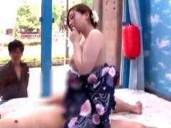 MM号 ムッチリ浴衣美女に彼氏に内緒で童貞くんの七夕のお願いを叶えてもらう!