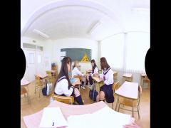 VR! 他 制服美少女4人とハーレム乱交できちゃうという学校はここですか?w