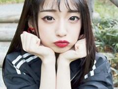 韓国ハーフの美少女と一日借り切ってJK制服コスプレ中出しエッチ記録