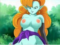 エロアニメ かわいいパンティー履いてる巨乳美女金髪ドラゴンボール18号が...