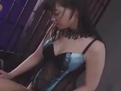 清楚系痴女のペニバンアナル調教でメスイキさせられるM男動画