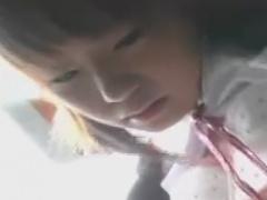電車で通学しているパイパンJKをレイプ痴漢しちゃう動画