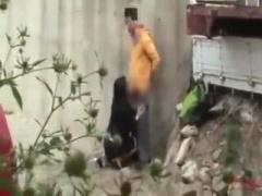 盗撮 素人JKカップルが野外露出青姦セックスしてる姿を隠し撮りした個人撮...