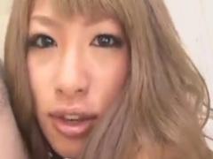 スク水JK黒ギャル痴女の乳首舐め手コキで強制射精させられるM男動画