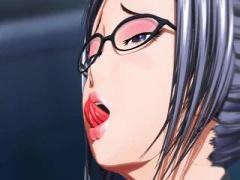 ラバースーツお姉さんのオナニー3Dエロアニメ