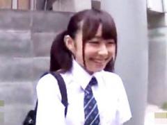 童顔の円光女子校生とハメ撮りして勝手に中出しする鬼畜企画!