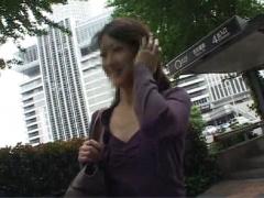 人妻ナンパ 36歳名古屋の奥様 土下座ナンパで立てななるまで中イキ 顔面射...