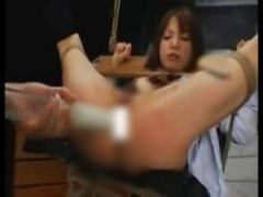 JK浣腸 がっつり拘束されたjkがSM調教凌辱されて悶絶…浣腸されたり電マ責...