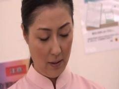 センズリ鑑賞 美熟女ナースが吐精室で患者さんのおちんちんオナサポしちゃう