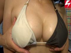 人妻ナンパ企画 巨乳爆乳おっぱいの美人水着素人がエロマッサージで寝取られるNTR淫乱誘惑浮気不倫SEX中出し動画