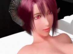 淫乱サキュバスお姉さんと中出しSEXする3Dエロアニメ