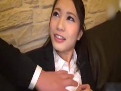 素人ナンパ 弁護士を目指している真面目な美人女子大生をホテルに連れ込む!